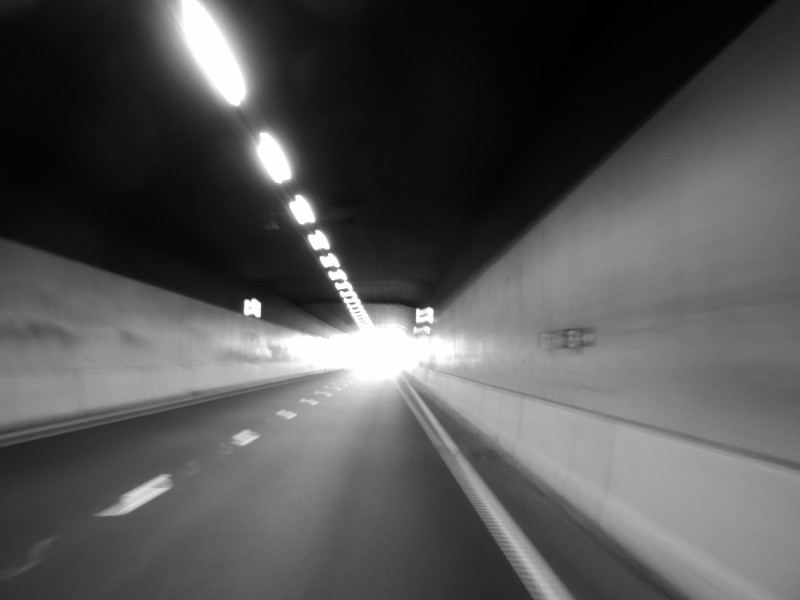 Tunnel onder CS